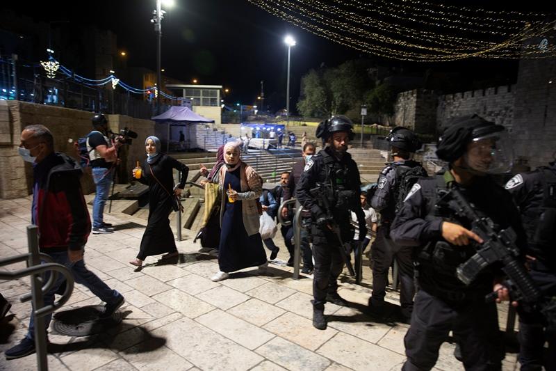 Ισραήλ: Δεκάδες τραυματίες από τις συγκρούσεις Παλαιστινίων και αστυνομίας στην Ιερουσαλήμ