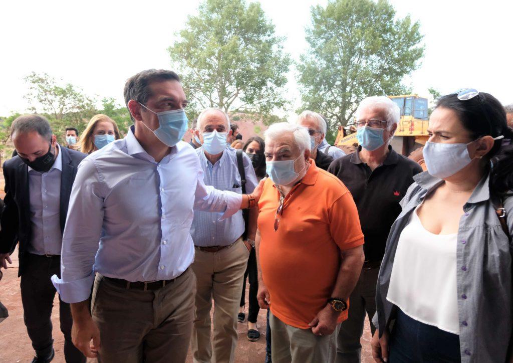 Τσίπρας από Χαλκίδα: «Ταφόπλακα» για τον κόσμο της εργασίας η κυβέρνηση Μητσοτάκη (Video)