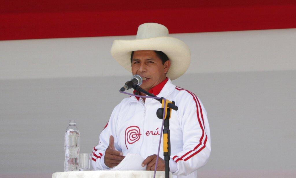 Περού-Προεδρικές εκλογές: Διευρύνεται το προβάδισμα του Πέδρο Καστίγιο