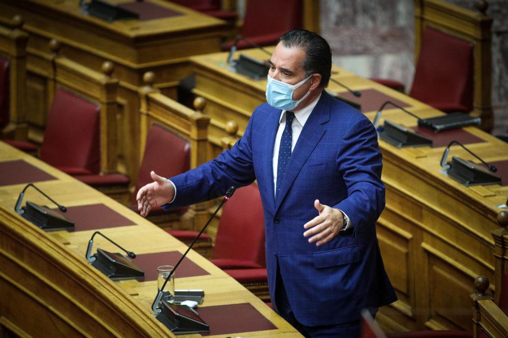 Ο «μακεδονομάχος» Άδωνης αποκαλεί τη Βόρεια Μακεδονία σκέτο Μακεδονία (έγγραφα)
