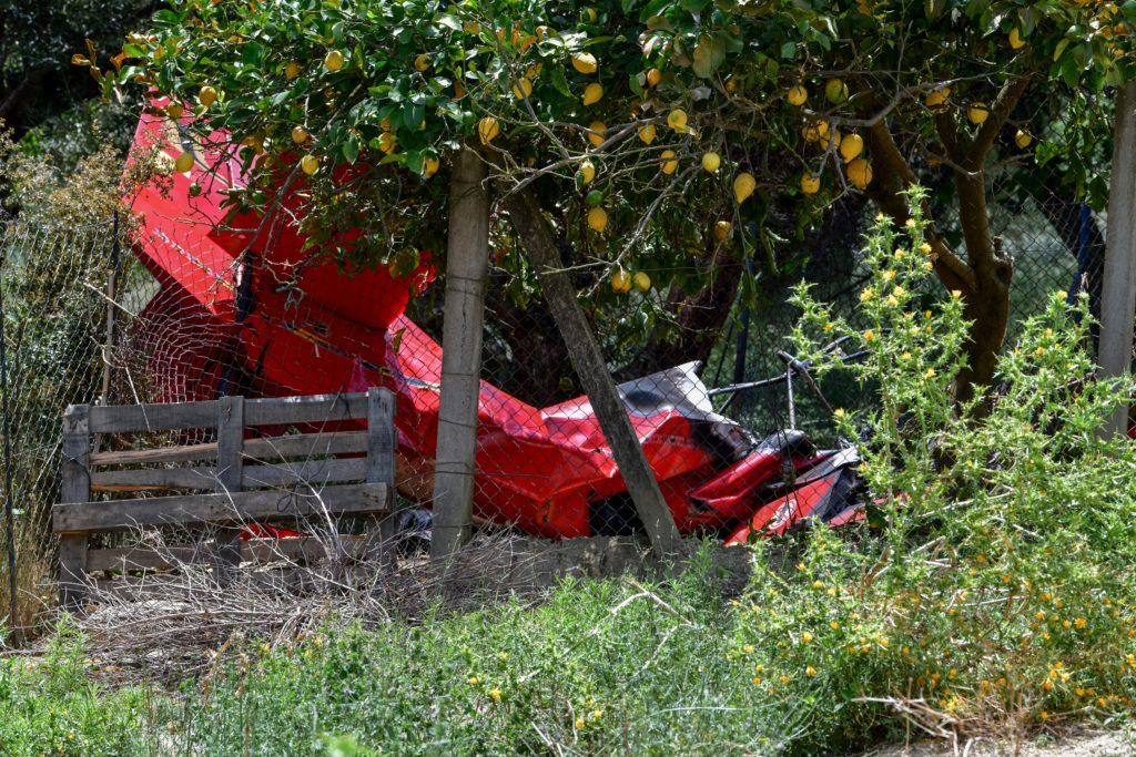 Ηλεία: Ξεκίνησε έρευνα για την πτώση του αεροσκάφους – Τι λένε μάρτυρες για τη στιγμή της συντριβής