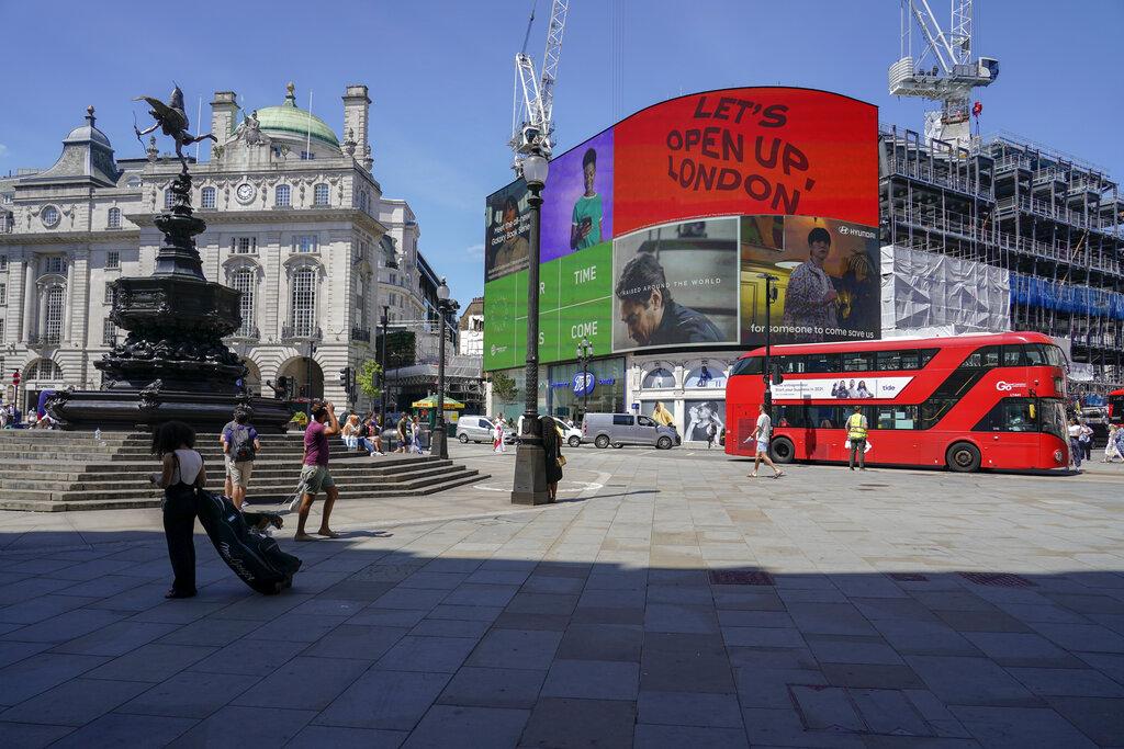 Βρετανία: 35.204 νέα κρούσματα της παραλλαγής Δέλτα την τελευταία εβδομάδα