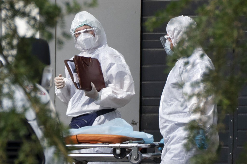 Ρωσία: 20.182 νέα κρούσματα κορονοϊού και 568 νεκροί μέσα σε 24 ώρες