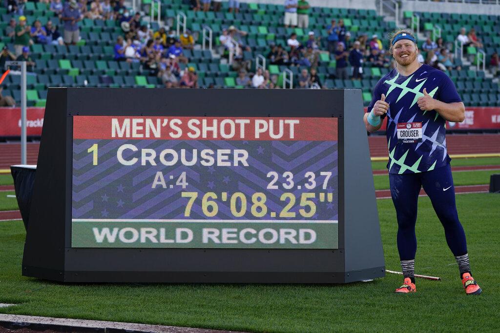 Στίβος: Ο Αμερικανός Κρούζερ έσπασε το παγκόσμιο ρεκόρ στη σφαιροβολία που κρατούσε από το 1990