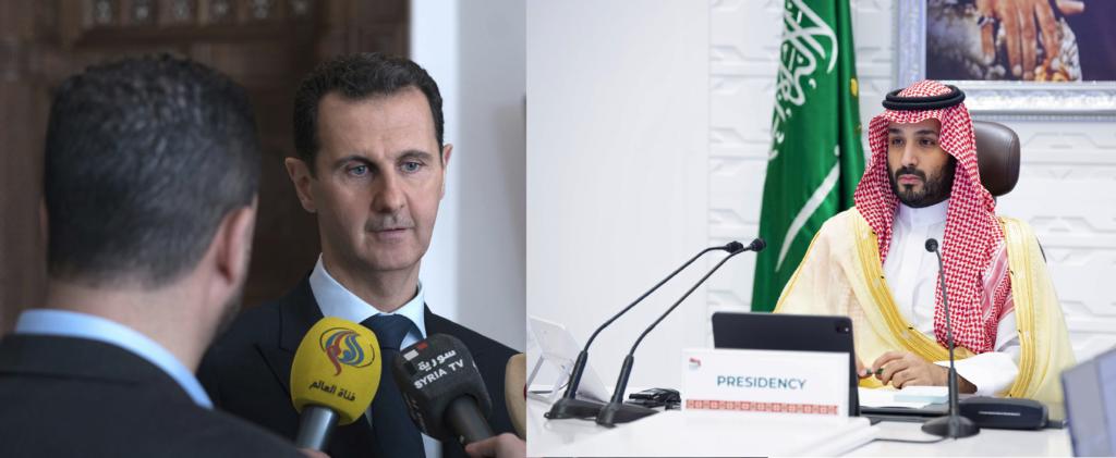 Συρία και Σαουδική Αραβία αναθερμαίνουν τις σχέσεις του μετά από μία δεκαετία