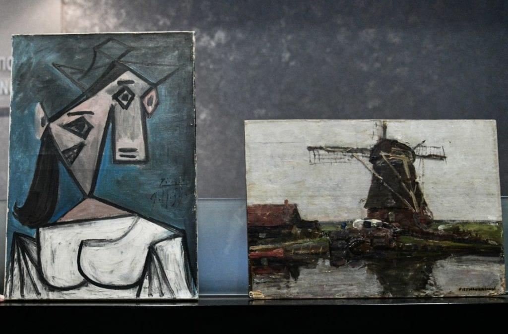 Το twitter πήρε «φωτιά» για τον πίνακα του Πικάσο που τους έπεσε από τα χέρια: «Αριστερός ο Πικάσο αναμενόμενο να γλιστρήσει»