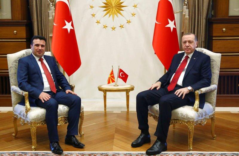 Συνάντηση Ζάεφ – Ερντογάν απόψε στην Κωνσταντινούπολη