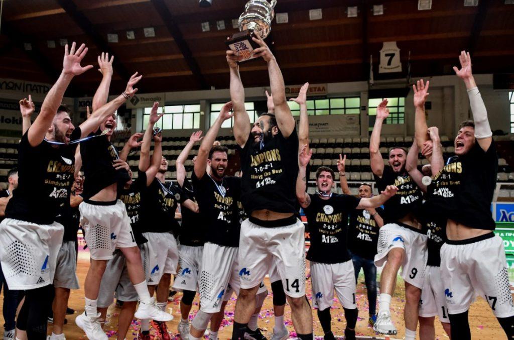Θριαμβευτική επιστροφή του Απόλλωνα Πάτρας στην Basket League