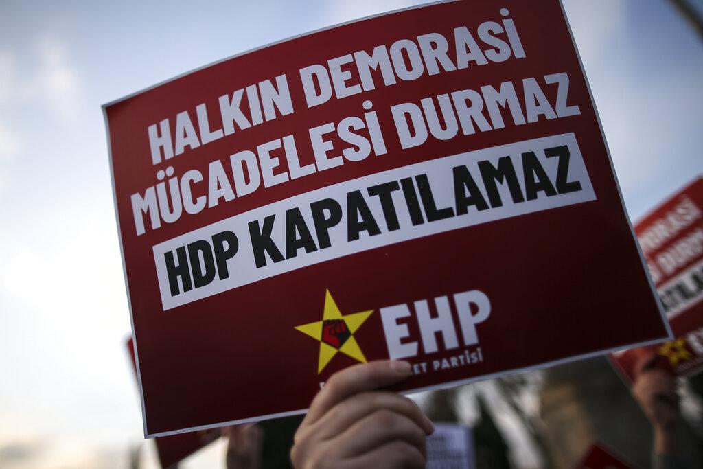 Τουρκία: Θα εξεταστεί η προσφυγή για να τεθεί εκτός νόμου το φιλοκουρδικό κόμμα HDP
