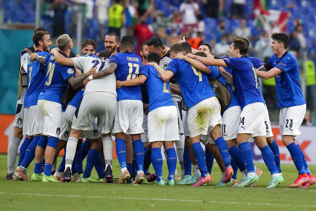Euro 2020: Πέρασαν Ιταλία και Ουαλία, ελπίζει η 3η Ελβετία από τον Α' όμιλο