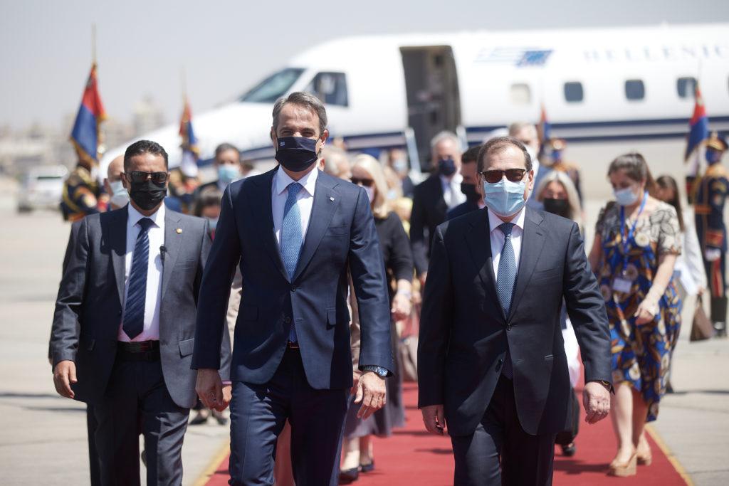 Στην Αίγυπτο ο πρωθυπουργός Κυριάκος Μητσοτάκης