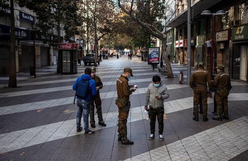 Χιλή: Το Σαντιάγο ξανά σε καραντίνα, για 3η φορά