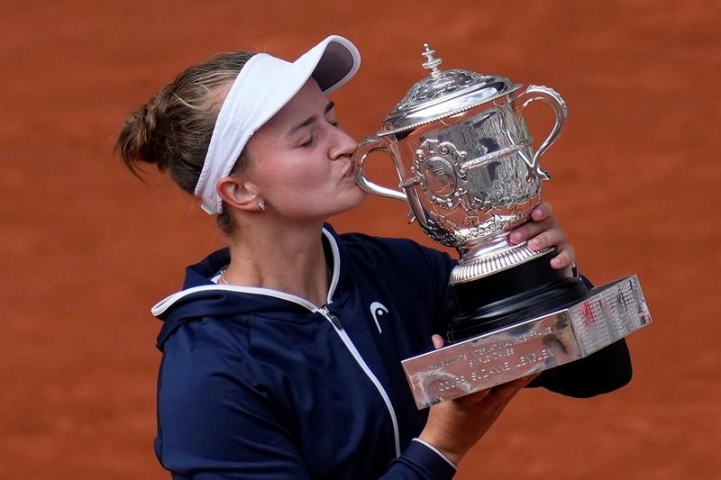 Roland Garros: Τον πρώτο τίτλο της σε γκραν σλαμ κατέκτησε η Κρεϊτσίκοβα