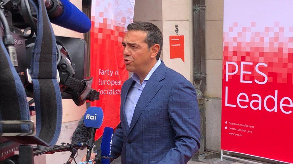 Κρίσιμη παρέμβαση Τσίπρα για εθνικά στη σύνοδο των Ευρωπαίων Σοσιαλιστών