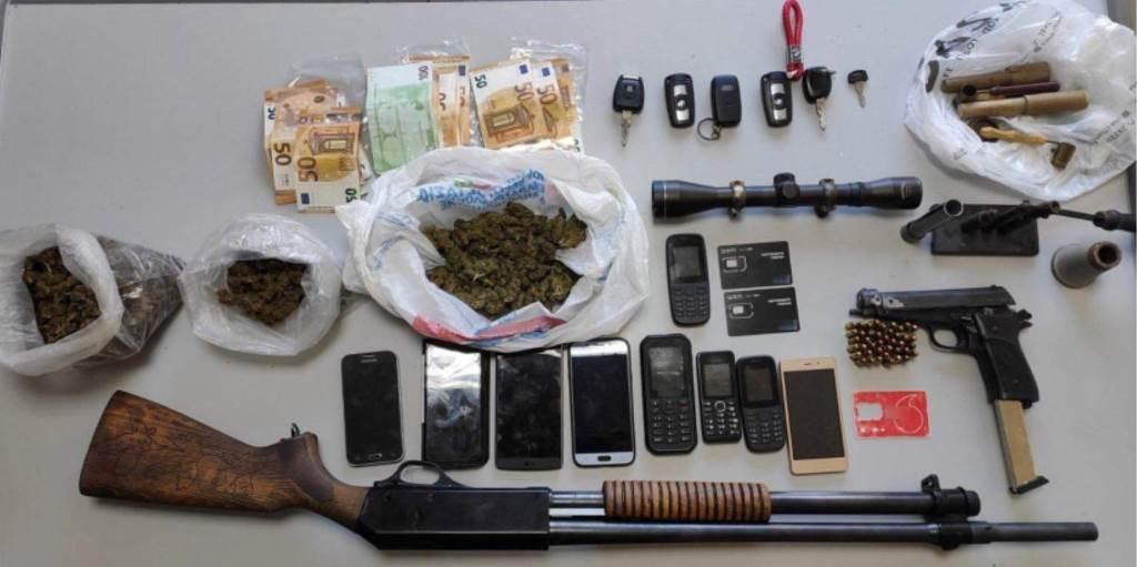 Κρήτη: Εξαρθρώθηκε εγκληματική ομάδα με «ειδίκευση» σε όπλα, ναρκωτικά και εμπρησμούς οχημάτων