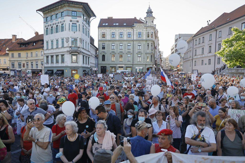 Υπόθεση Pegasus: Διαδηλώσεις κατά της παράνομης παρακολούθησης στην Ουγγαρία