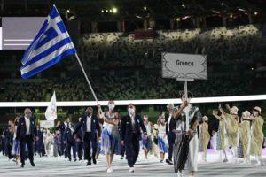 Ολυμπιακοί Αγώνες: Κορακάκη και Πετρούνιας πρώτοι στο Στάδιο – Η Τελετή Έναρξης (Photos)