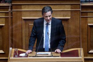 Βουλή: Πώς ο Σκυλακάκης υπερασπίστηκε το σχέδιο Ανάκαμψης