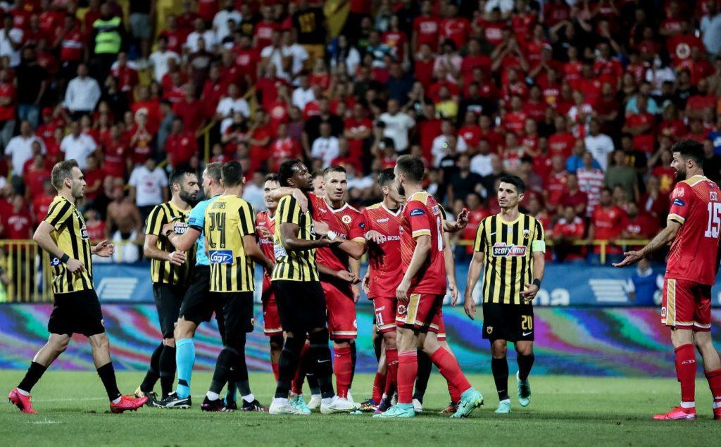 ΑΕΚ: Ηττα στο Σαράγεβο με 2-1 από τη Βελέζ