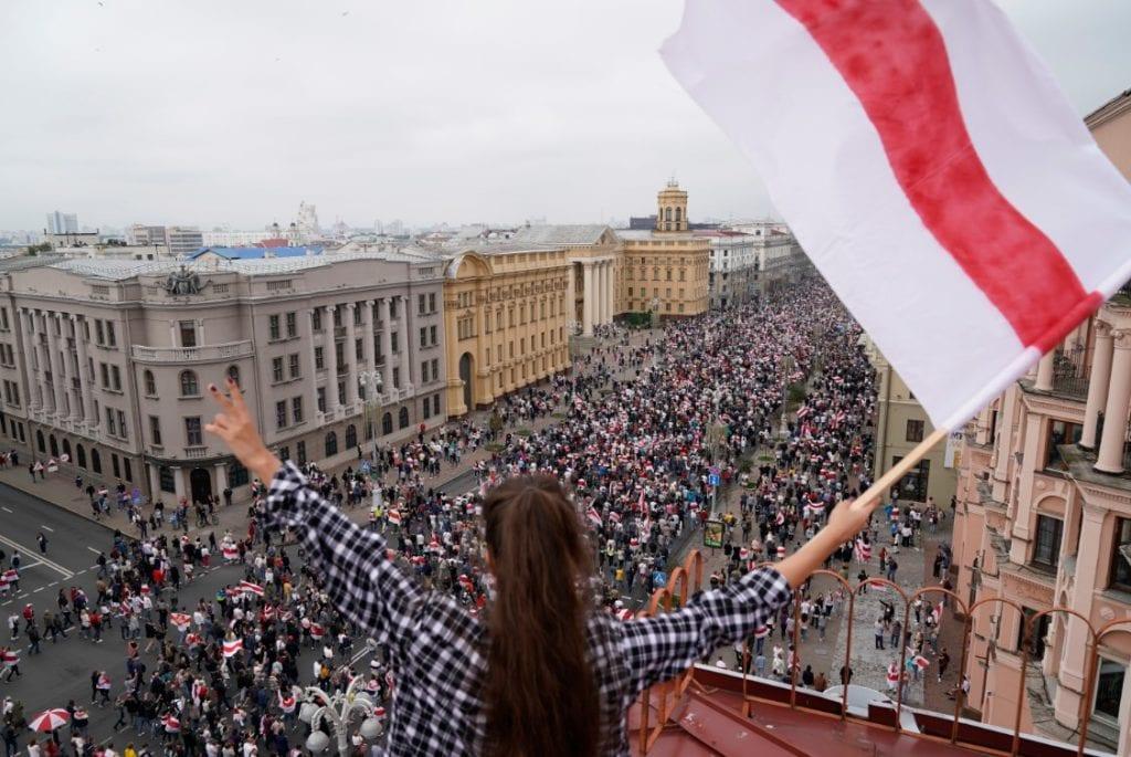 Λευκορωσία εκτός ελέγχου