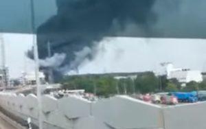Γερμανία: Έκρηξη σε εργοστάσιο χημικών (Video)