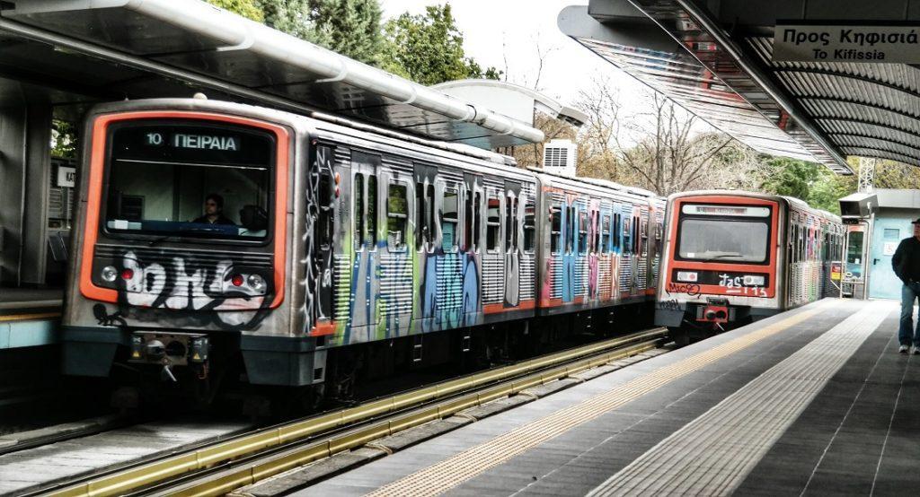 Μετρό: Κανονικά τα δρομολόγια «Πειραιάς – Κηφισιά» στη Γραμμή 1
