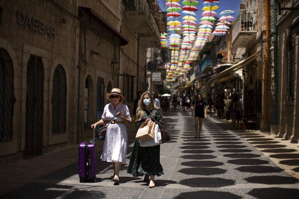 ΗΠΑ: Στην 3η βαθμίδα επικινδυνότητας το Ισραήλ λόγω αύξησης κρουσμάτων