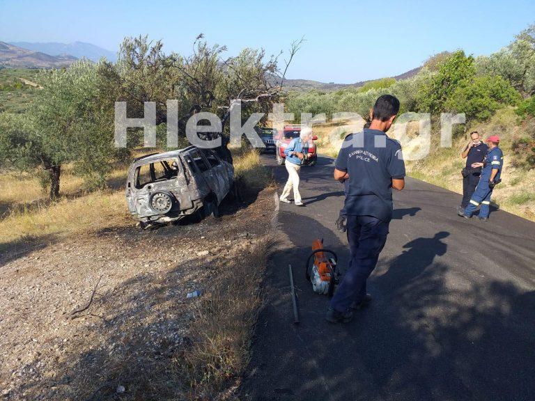 Κορινθία: Τοπικός ιερέας βρέθηκε απανθρακωμένος στο όχημά του