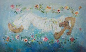 Ο ζωγράφος Γιάννης Κόττης εκθέτει στη Δημοτική Αγορά της Ύδρας