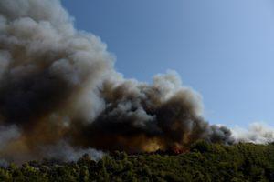 Φωτιά στην Αχαΐα: Εκκενώνονται παραλιακές περιοχές – Επιστρατεύονται σκάφη του Λιμενικού (Photos/Videos)