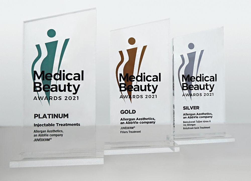 Σημαντικές διακρίσεις για την Allergan Aesthetics στα Medical Beauty Awards 2021