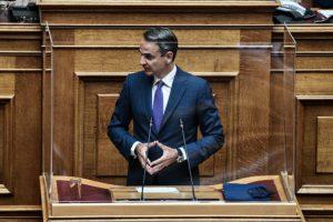 Την ανάγκη του εμβολιασμού των εκπαιδευτικών τόνισε ο Μητσοτάκης στην Βουλή