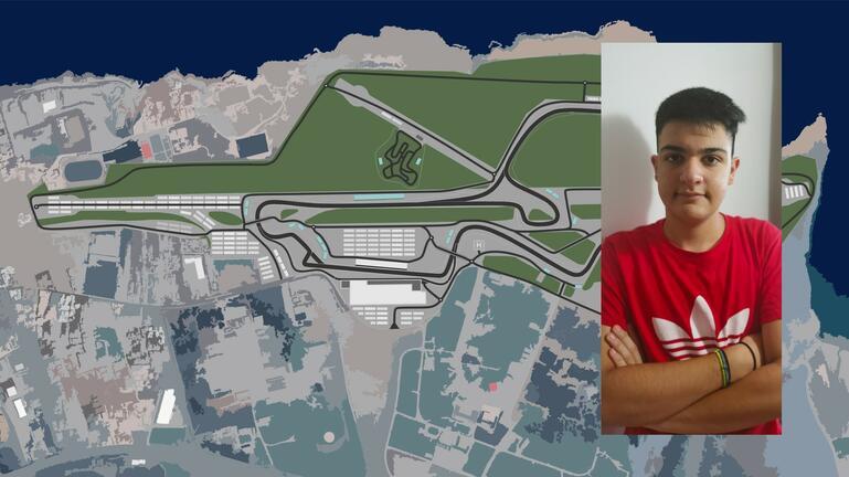 Παιδί από την Κρήτη ονειρεύεται και… δημιουργεί πίστα Formula 1