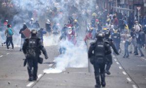 Η Διεθνής Αμνηστία καταδικάζει την αστυνομική βία στην Κολομβία