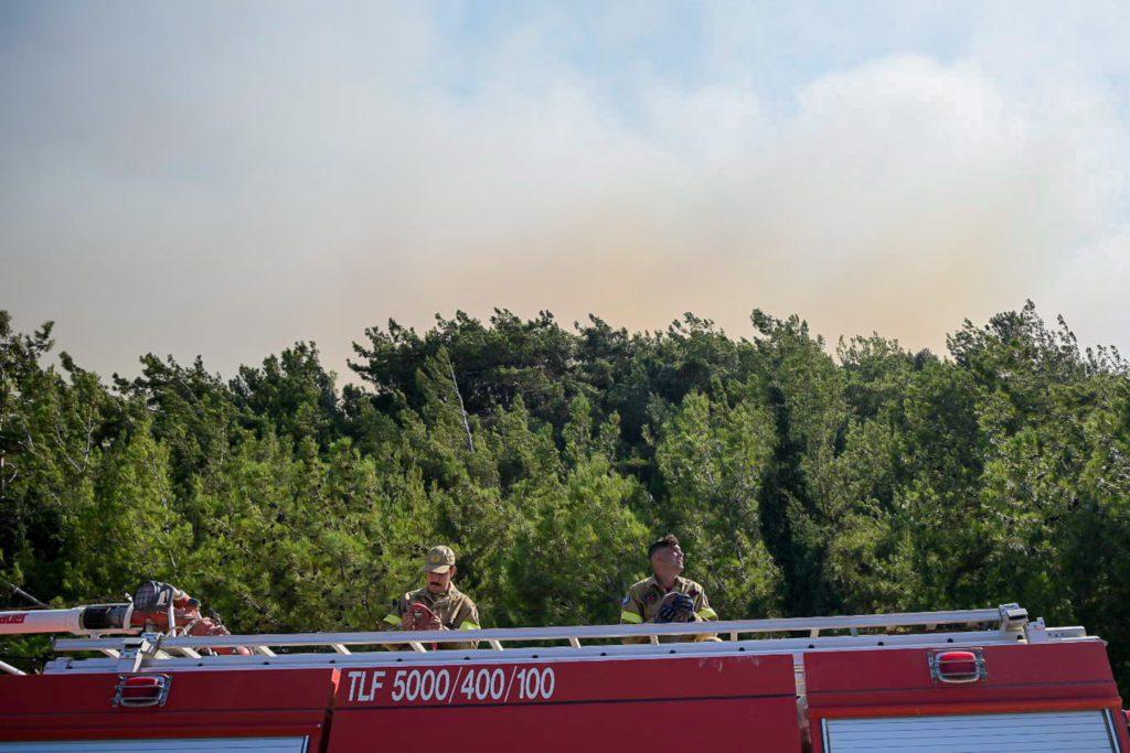 Πολύ υψηλός κίνδυνος πυρκαγιάς την Πέμπτη για 4 περιφέρειες της χώρας