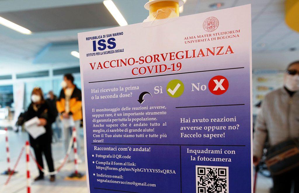 Ο Άγιος Μαρίνος πέτυχε την ανοσία της αγέλης με το ρωσικό εμβόλιο