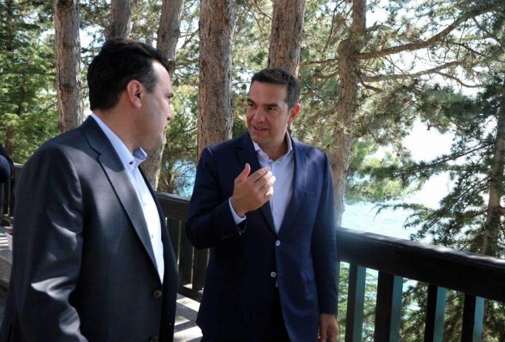 Τσίπρας σε Ζάεφ: Τήρησε κατά γράμμα τη συμφωνία των Πρεσπών