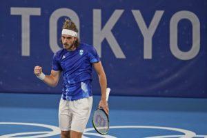 Ολυμπιακοί Αγώνες – Τένις: Εύκολα στους «16» ο Τσιτσιπάς