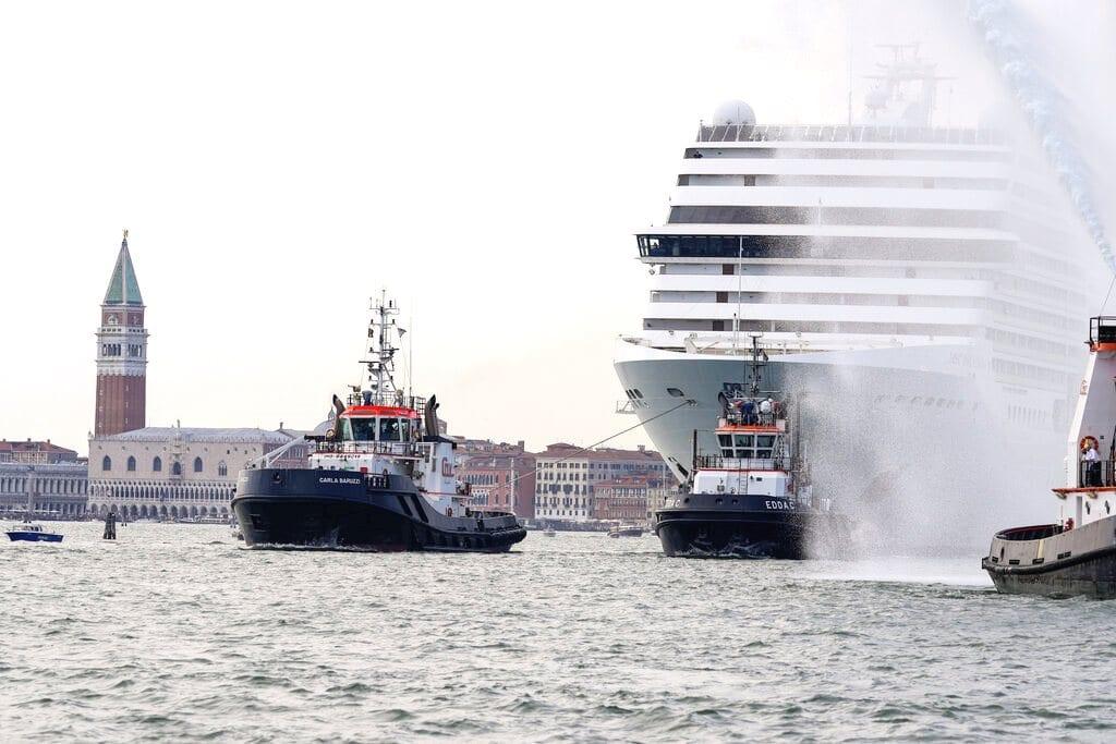 Η Βενετία κλείνει το Μεγάλο Κανάλι στα κρουαζιερόπλοια μετά από πίεση της UNESCO