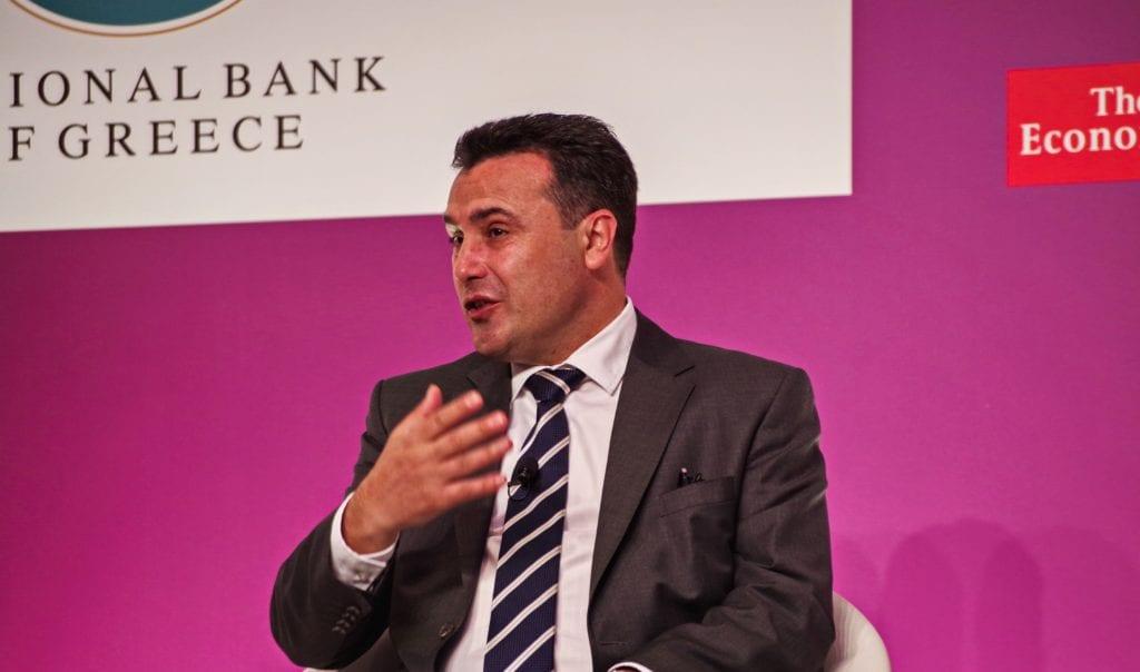 Ικανοποίηση Ζόραν Ζάεφ από την υπογραφή της συμφωνίας Βόρειας Μακεδονίας – ΔΕΣΦΑ