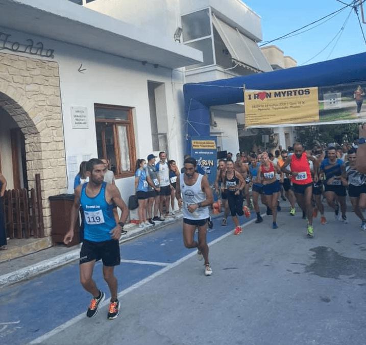 Δρομικός… καύσωνας στο I Run Myrtos 2021