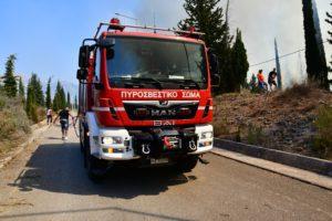Φωτιά στην Άνω Βαρυμπόμπη