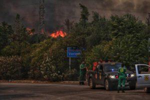 """Φωτιά Βαρυμπόμπη – Κάτοικος καταγγέλλει: «Αφημένο στο έλεος του θεού του δάσος – Το φωνάζαμε """"αν πιάσει φωτιά θα καούμε""""»"""