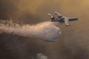Πυρκαγιά στην Εύβοια: Καθηλωμένο λόγω βλάβης το ρωσικό αεροσκάφος Beriev