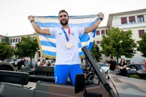 Με τιμές υποδέχθηκαν στα Γιάννενα τον «χρυσό» Ολυμπιονίκη Στέφανο Ντούσκο