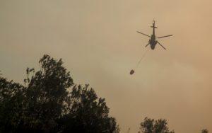 Νέα φωτιά στη Μεσσηνία στην περιοχή Μέλπεια