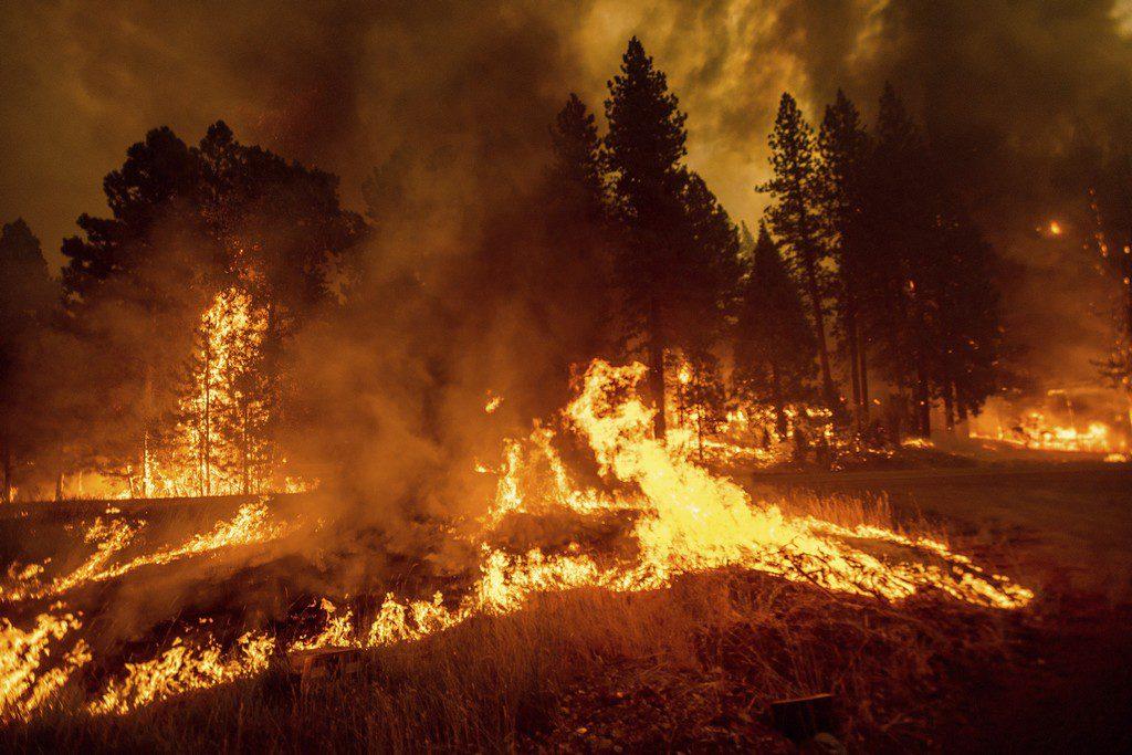 Πύρινη λαίλαπα στις ΗΠΑ: Το Γκρίνβιλ της Καλιφόρνια καταστράφηκε ολοσχερώς