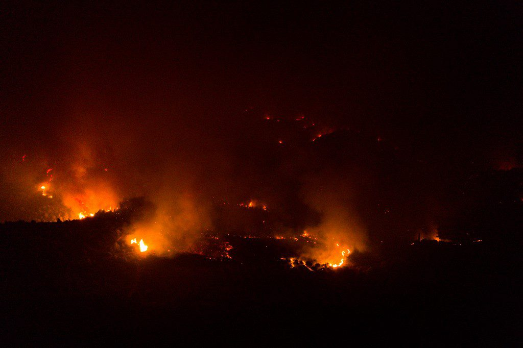 Πολιτική Προστασία: Πολύ υψηλός κίνδυνος πυρκαγιάς και αύριο σε πολλές περιοχές