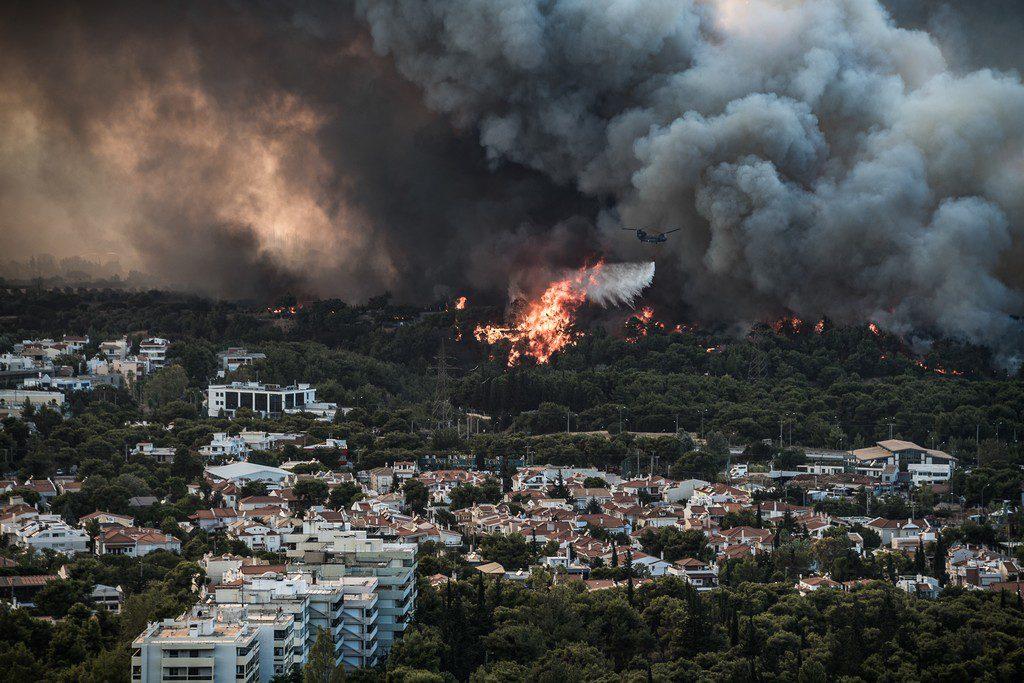Κάτοικος Βαρυμπόμπης: Έβλεπα το σπίτι μου να καίγεται, καταστράφηκε ολοσχερώς