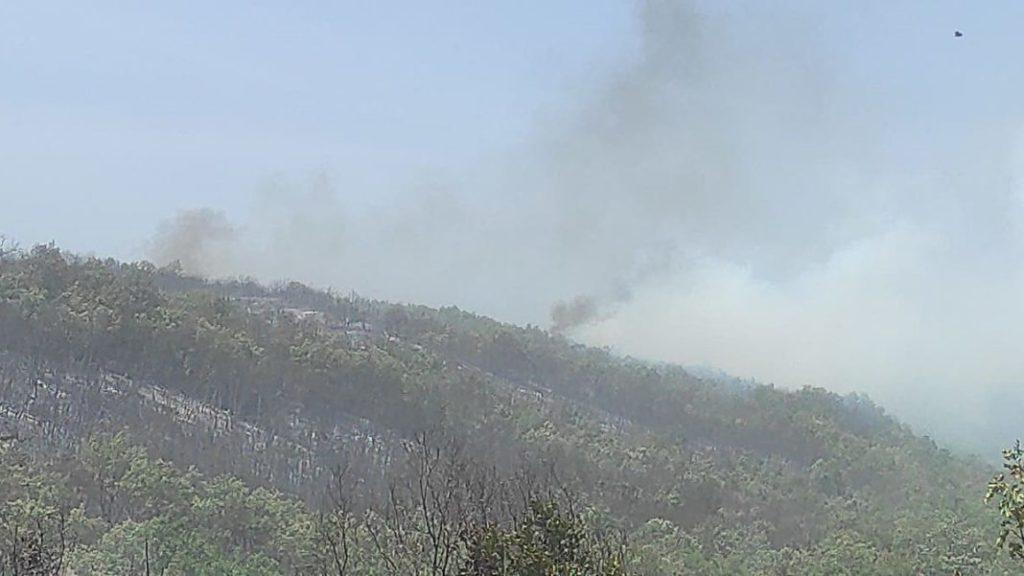 Φωτιά Γρεβενά: Αναζωπυρώθηκε η πυρκαγιά λόγω των ισχυρών ανέμων- Μήνυμα του 112 για εκκενώσεις χωριών